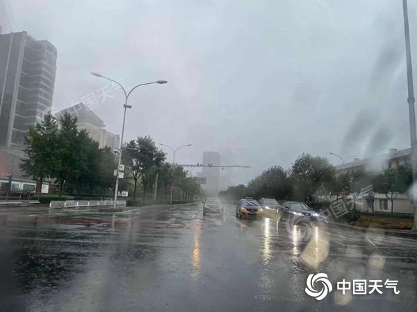 局地暴雨北京今日白天强降雨仍持续山区地质灾害风险较高